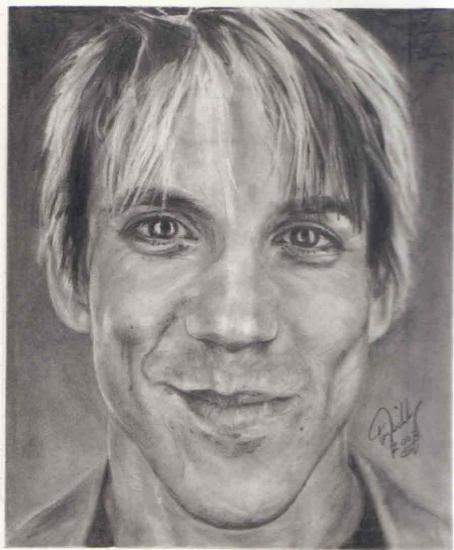 Anthony Kiedis par Graphite-Wizzard